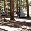 Camp at VVR - hikers are free to pitch their tents wherever.