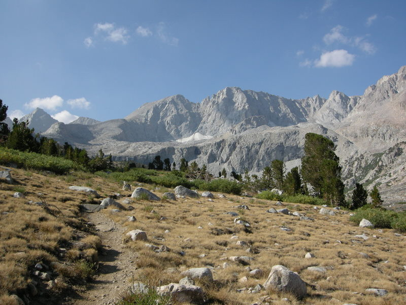 Junction Peak (left) and Mt Stanford (center)