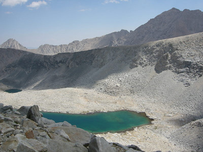 Unnamed lake and mt Keith