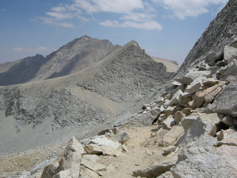 Junction Peak from the pass