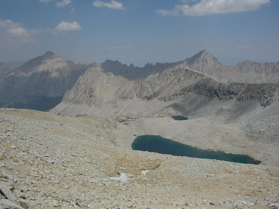 Looking back from Forester Pass