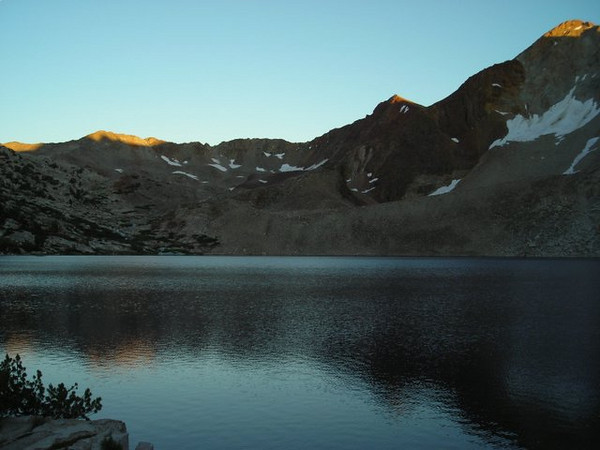 Sunset - looking south toward Pinchot Pass