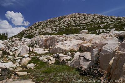 Nice terrain, perfect rock hopping and slab walking.