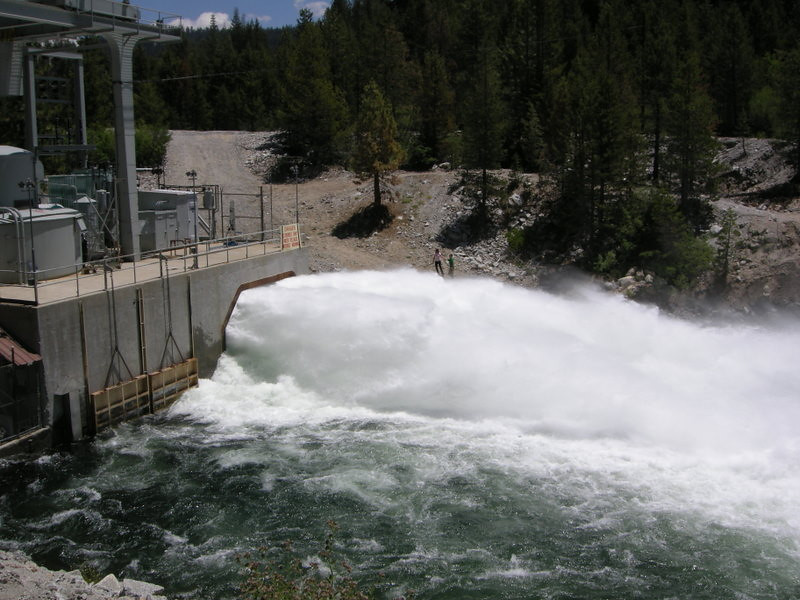 Ward Tunnel outlet<br /> <br /> This water comes from a tunnel fed by Florence Lake far above
