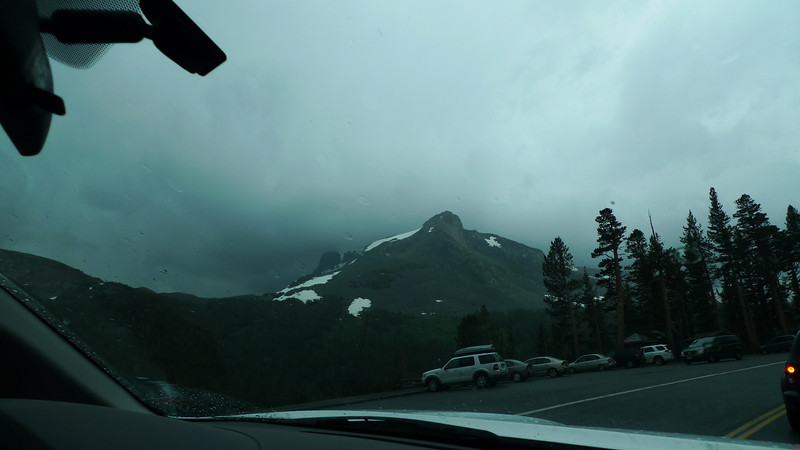 On the bright side, we got to watch an awesome lightning storm on Mt Dana...