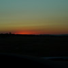 Sunset glow from the central valley on Friday night as we drove to the east side.