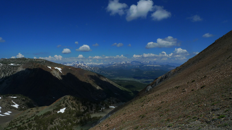 View north towards Mammoth