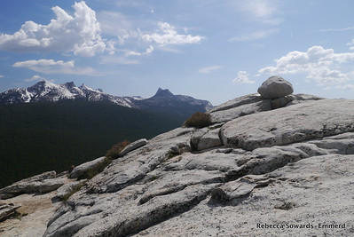 Erratic on Lembert Dome summit.