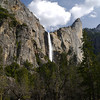 Bridalveil Falls. Classic touristy view point.