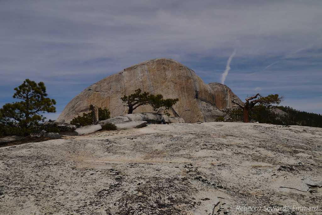 Liberty Cap summit and Half Dome
