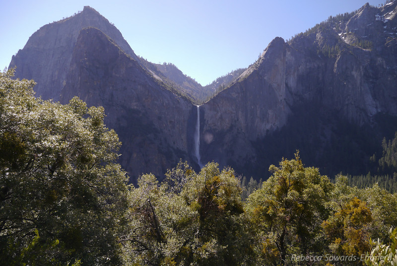 Looking across the valley to Bridalveil falls. Amazing!