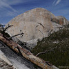 Half Dome view from the chute