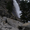Nevada Falls from the trail.