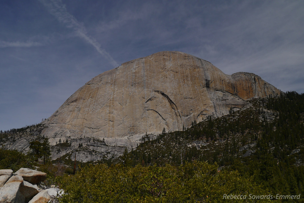 Oh, did I mention the stunning half dome view from here?