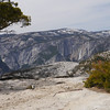 Upper Yosemite Falls from the summit.