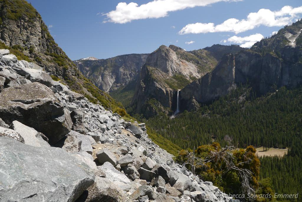 Rockslides and views