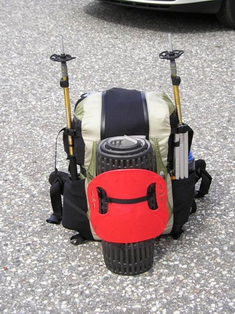 My new Granite Gear Ki all packed up