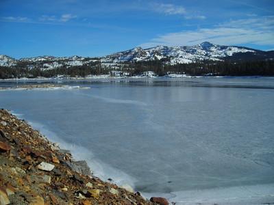 Frozen Loon Lake