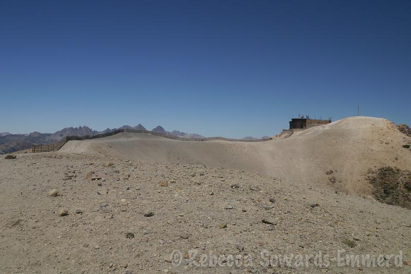 On the summit ridge. Mountain bikers everywhere!