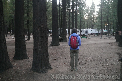 The trailhead is tricky to find and we wasted 30 minutes wandering aimlessly through the campground. The locals weren't much help.