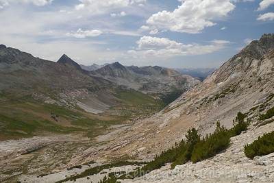 A nicer view of Spiller Creek and Virginia Peak