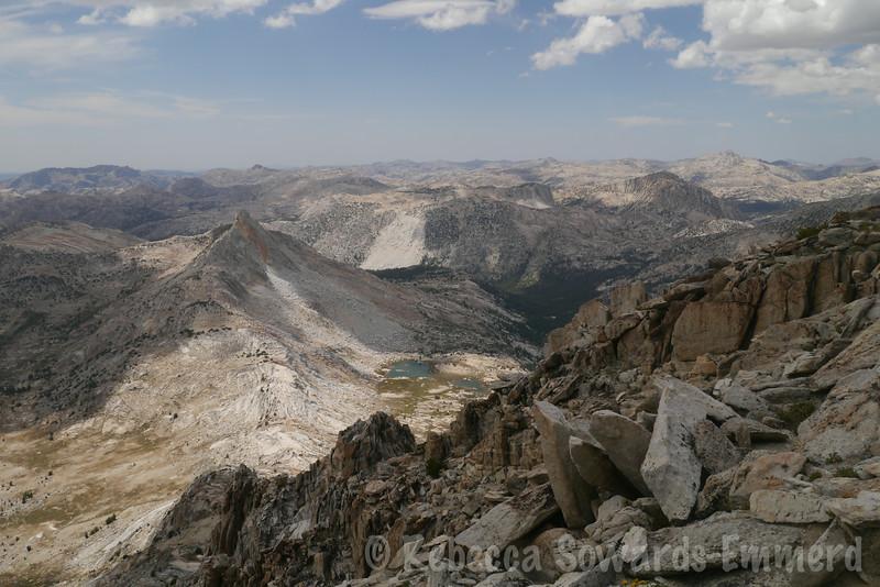 Finger Peaks and Slide Mountain
