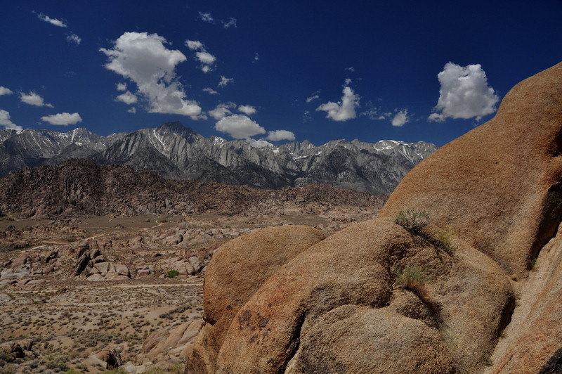 Whitney from the Alabama Hills