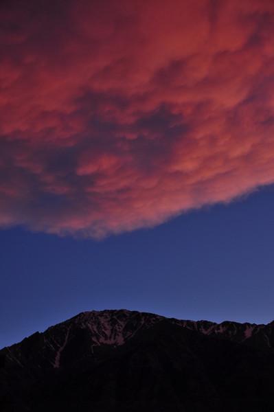 Mt Tom with sunset light
