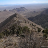 So we just followed trail straight down this ridge.