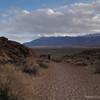 David walking around the Volcanic Tablelands.