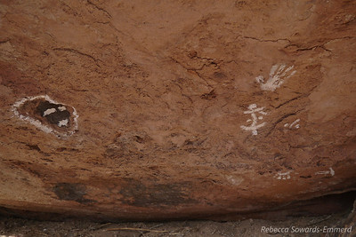 Found these fake pictographs. Not what i was looking for.