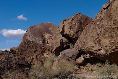 I love the rock piles around here.