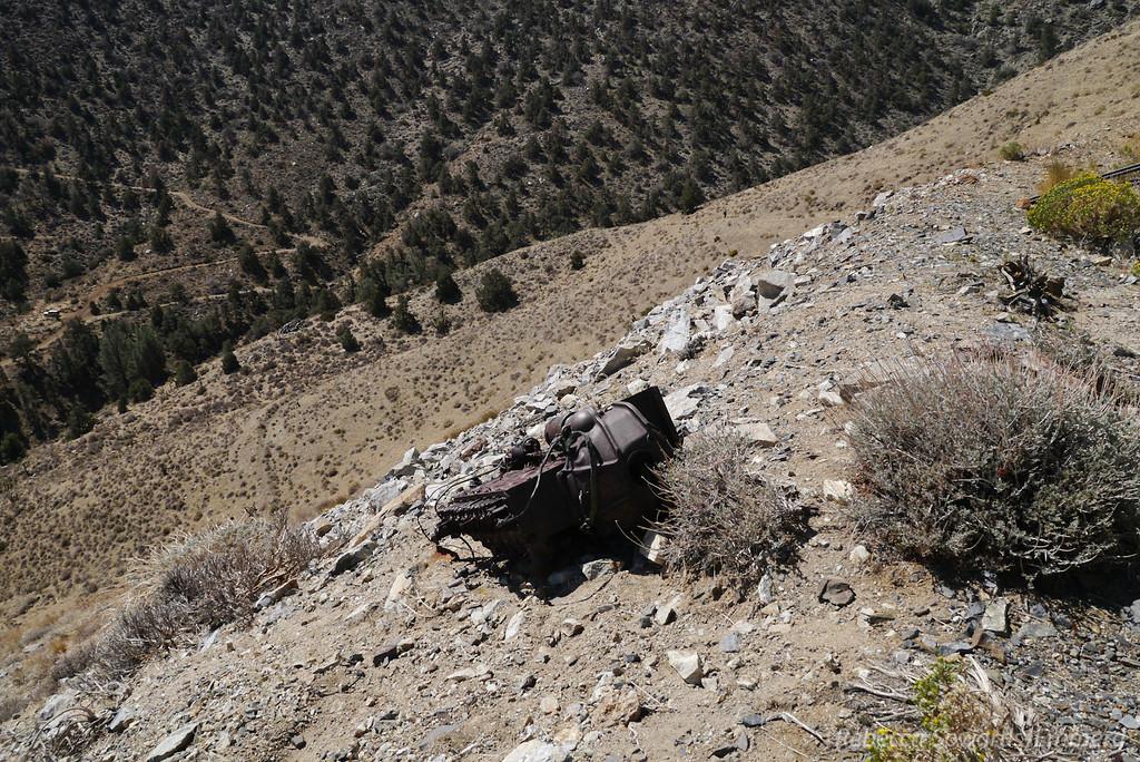 Mining debris.