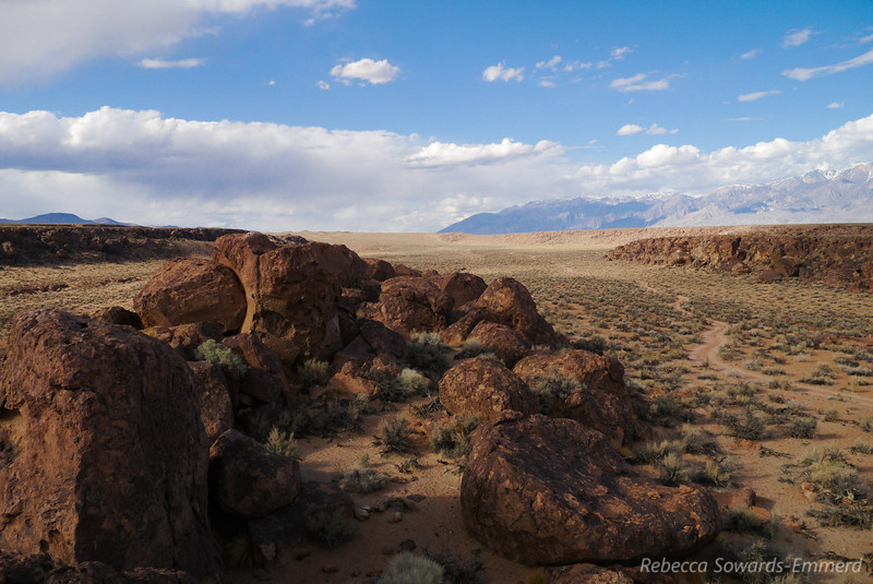 After visiting Sky rock we wandered around the boulders for a while. I love hopping around these.