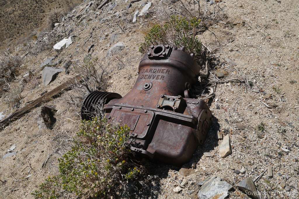 Some Drain system component outside a mine.