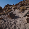 Hiking the volcanic tablelands in Bishop. What a fun climbing area!