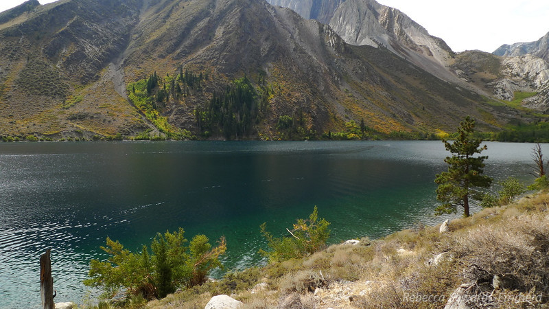 Convict Lake is gorgeous.