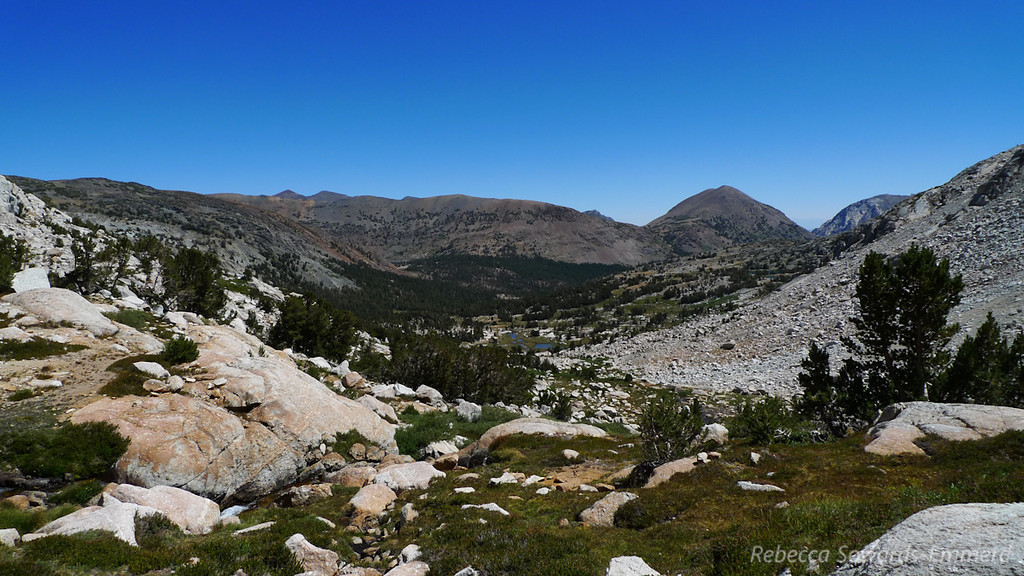 """Looking back the way we came. <a href=""""http://photos.calipidder.com/Dayhikes/Sierra-Nevada/Tioga-Peak/13664798_mhTbQ#997684916_qxpgZ"""">Tioga Peak</a> standing out."""