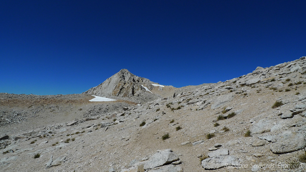 Finally, the summit is in view.