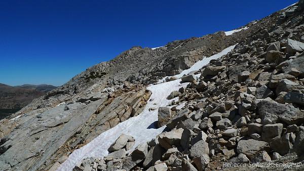 View towards White Mountain