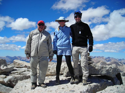 Ron, Me and David on the summit