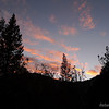 Cought a beautiful sunset right before getting back to the trailhead.