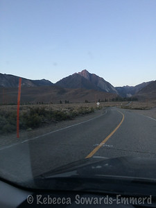 """It's not often that I take a picture of a peak on the drive to the trailhead while thinking """"holy crap, I'm going to climb that thing?"""""""