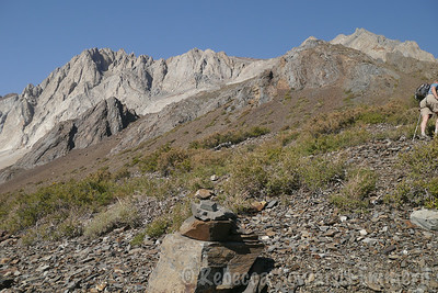 The first cairn.