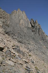 Giant rock pillars on Morrison