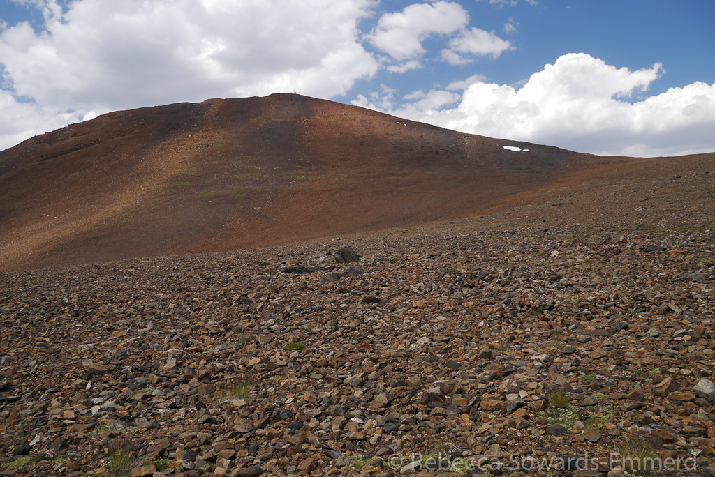 Mt Warren. There is a solar powered weather station on the summit that provides some scale.