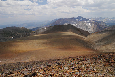 Mt Dana and the Warren plateau.