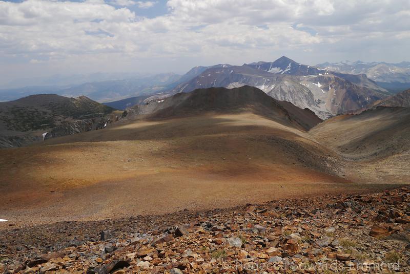 Mt Dana and the Warren plateau.
