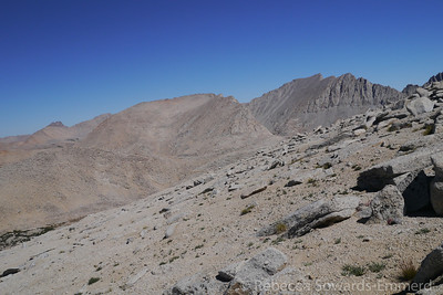 Looking over at Mt Tyndall