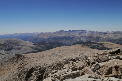 View toward the Kaweahs and the Great Western Divide
